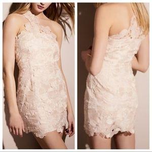 NEW Saylor Free People Blush Pink Malia Dress L